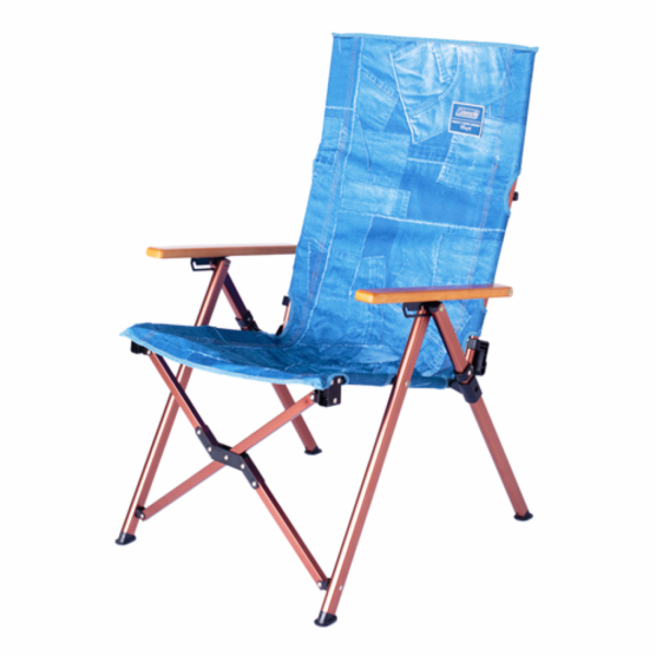 Coleman x Indigo Label Denim LAY Adjustable Chair