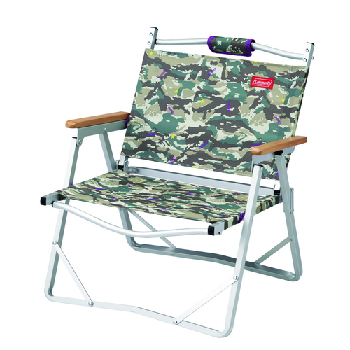 Coleman Aluminum Low Chair - Camo