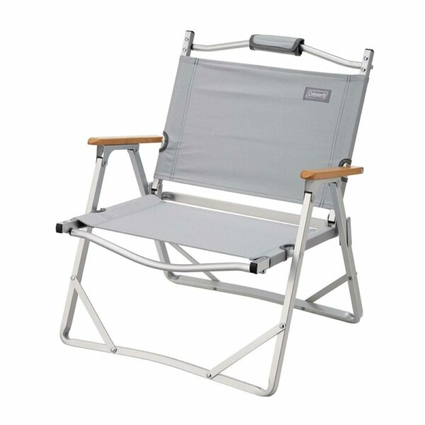 Coleman Aluminum Low Chair - Grey