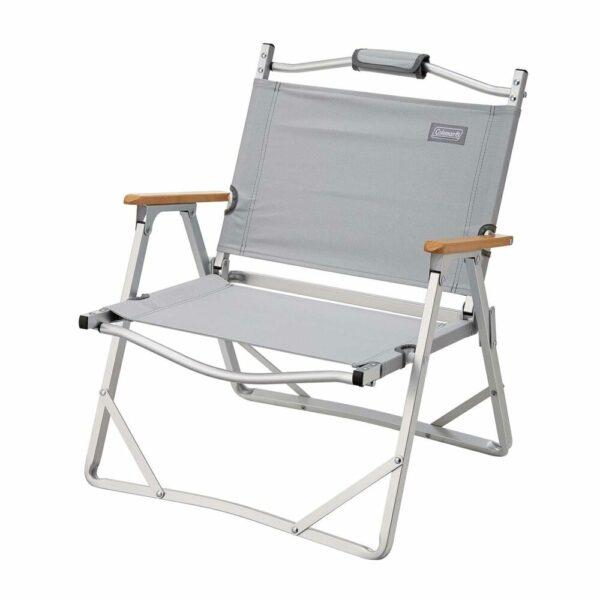 Coleman Aluminum Low Chair - Grey