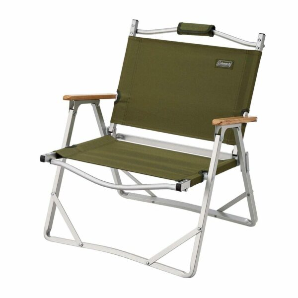 Coleman Aluminum Low Chair - Olive